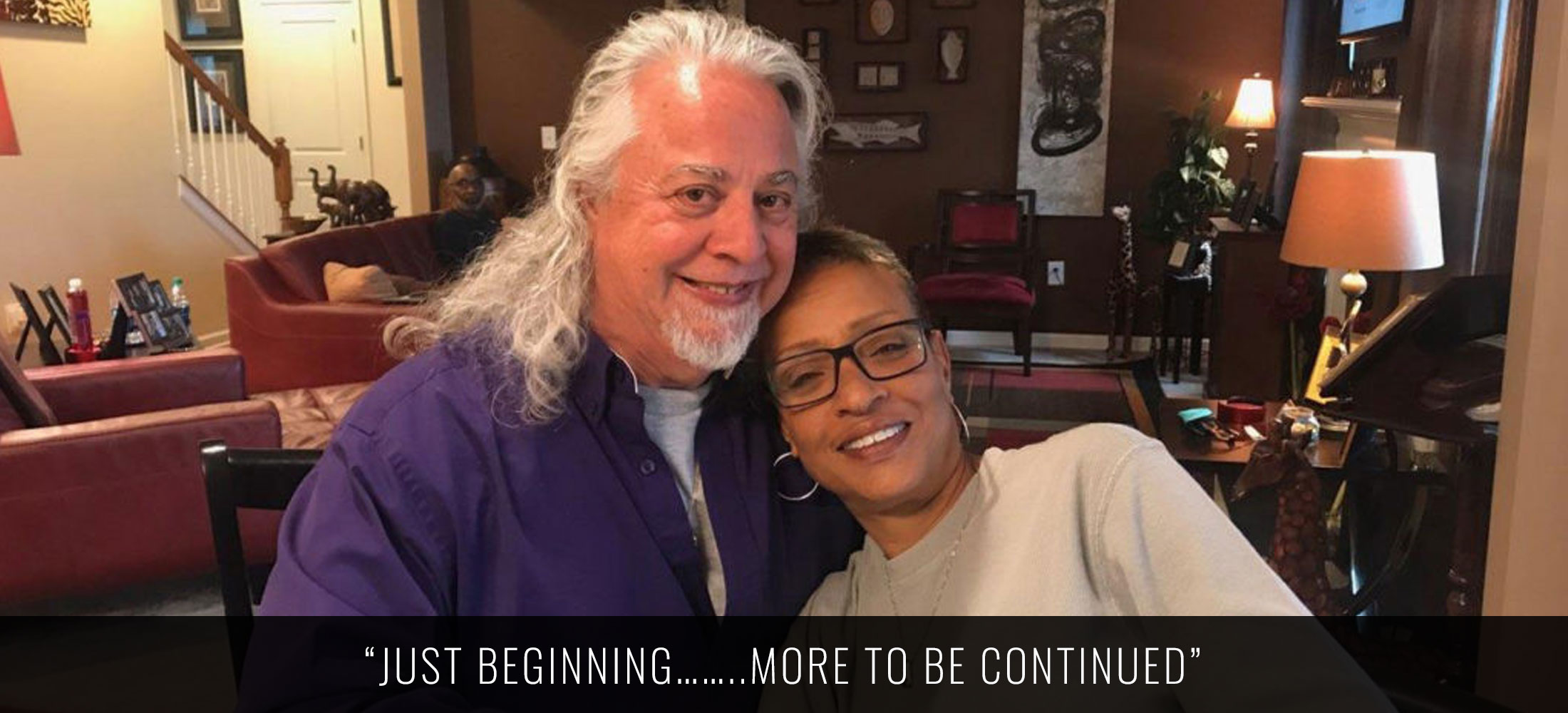 just beginning…more to be continued quote